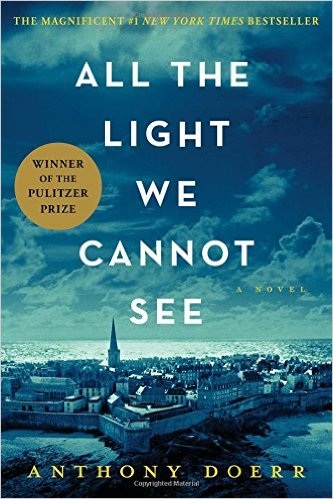 All the Light We Cannot See, Books on the New York Times Best Sellers List