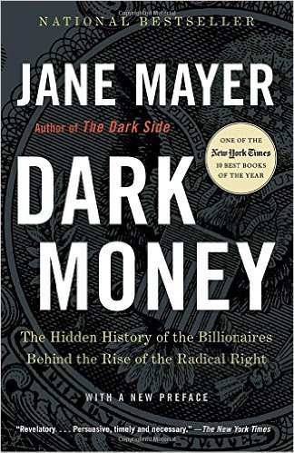 Dark Money, Books on the New York Times Best Sellers List
