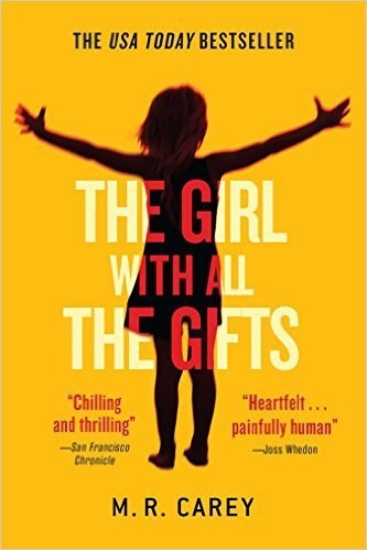 Girl With All The Gifts, Books on the New York Times Best Sellers List