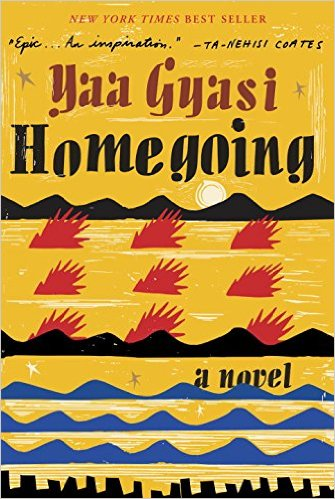 Homegoing, Books on the New York Times Best Sellers List
