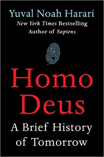 Homo Deus, Books on the New York Times Best Sellers List