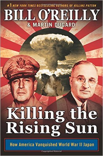 Killing the Rising Sun, Books on the New York Times Best Sellers List