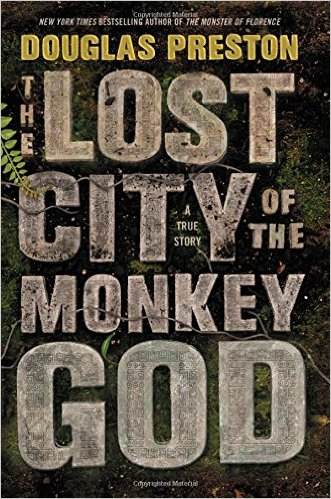 The Lost City of the Monkey God, Books on the New York Times Best Sellers List