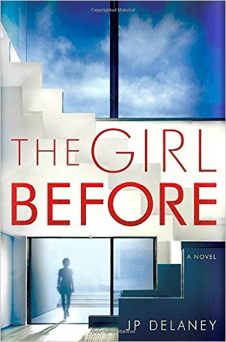 The Girl Before, Books on the New York Times Best Sellers List