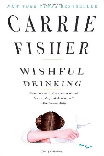 Wishful Drinking, Books on the New York Times Best Sellers List